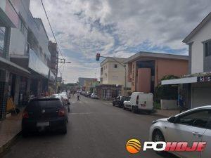 Equipamento instalado na Rua Felisberto Fonseca/cruzamento com a Rua Irineu Godinho