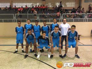 Meninos do vôlei da Escola E. de Ponte Firme
