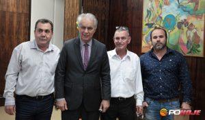 Pedro Osvando de Castro, Marcos Montes, Roberto Barros e Júlio Reis.