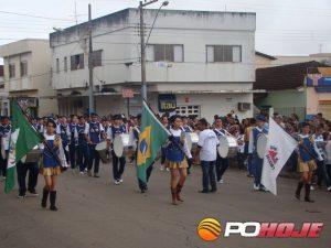 Desfile Festa da Produção de 2011 (Foto: Arquivo Juarez Martins)