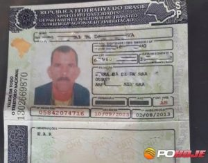 CNH falsa apreendida pela Polícia Militar Rodoviária